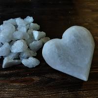 Соляное мыло из персидской белой соли СЕРДЦЕ