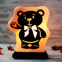 """Солевая лампа """"Мишка"""" 1,5-2,5 кг из гималайской соли"""