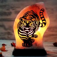 """Солевая лампа """"Тигр"""" 1,5-2,5 кг из гималайской соли"""