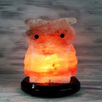 """Солевая лампа """"Совенок"""" 1,5-2,5 кг из гималайской соли"""