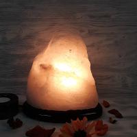 """Солевая лампа """"Скала"""" 2-3 кг из белой соли"""